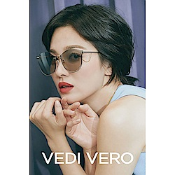 VEDI VERO 水銀面 太陽眼鏡 (金色)