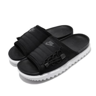 Nike 涼拖鞋 Asuna Slide 套腳 女鞋 夏日 輕便 舒適 簡約 穿搭 黑 白 CI8799003