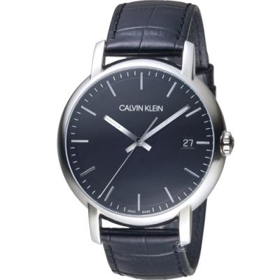Calvin Klein  Established 大三針時尚錶(K9H211C1)