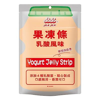 晶晶乳酸風味果凍條(390g)/包