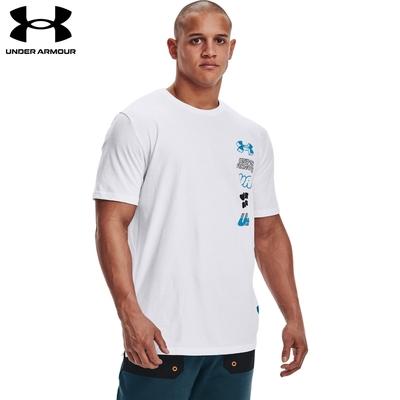 【UNDER ARMOUR】UA 男 SCRIBBLE短T-Shirt,1366420-100