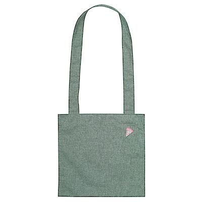 Antenna Shop 旅行散步刺繡托特包-丹寧綠