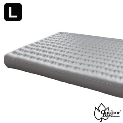 Outdoorbase 新款 歡樂時光充氣床(L).睡墊-奢華升級春眠系列_月石灰