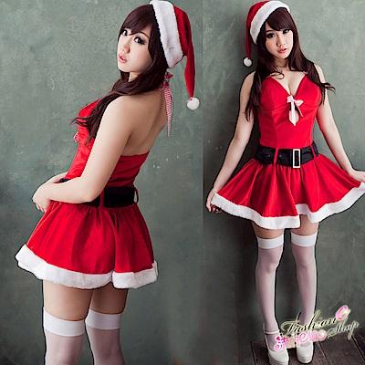 聖誕裝 日系可愛聖誕服 女孩甜心聖誕裝含聖誕帽*流行E線