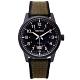 SEIKO 率性時尚橡膠與帆布帶材質錶帶手錶(SUR325P1)-黑面X綠色40mm product thumbnail 1