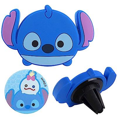 Disney迪士尼Tsum Tsum車用磁吸架/手機架_史迪奇