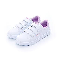 FILA 女性潮流復古鞋-粉紫 5-C301T-199