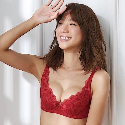 蕾黛絲-經典峰靡內衣 B-E罩杯內衣 石榴紅