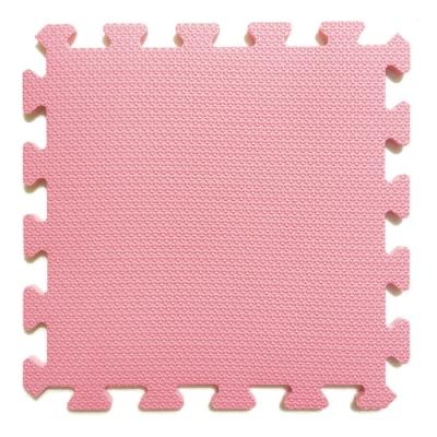 【新生活家】EVA鑽石巧拼地墊36入-粉紅