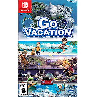 歡樂假期 Go Vacation - NS Switch 英文美版