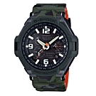 G-SHOCK 軍事迷彩風格光動能飛行電波腕錶 GW-4000SC-3A