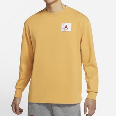 NIKE 上衣 長袖上衣 訓練 運動 慢跑 健身 男款 黃 DD0966-217