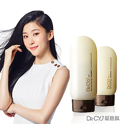 DR CYJ髮胜月太賦活洗護超值組(洗髮精150ml+護髮素110ml)