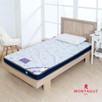 MONTAGUT-防蟎抗菌-10CM獨立筒床墊(單人3尺-90x186cm)