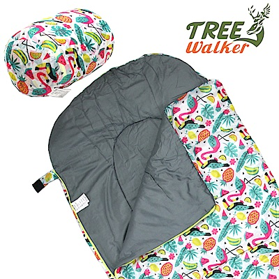 TreeWalker 夢想森林兒童捲筒睡袋(大嘴鳥)