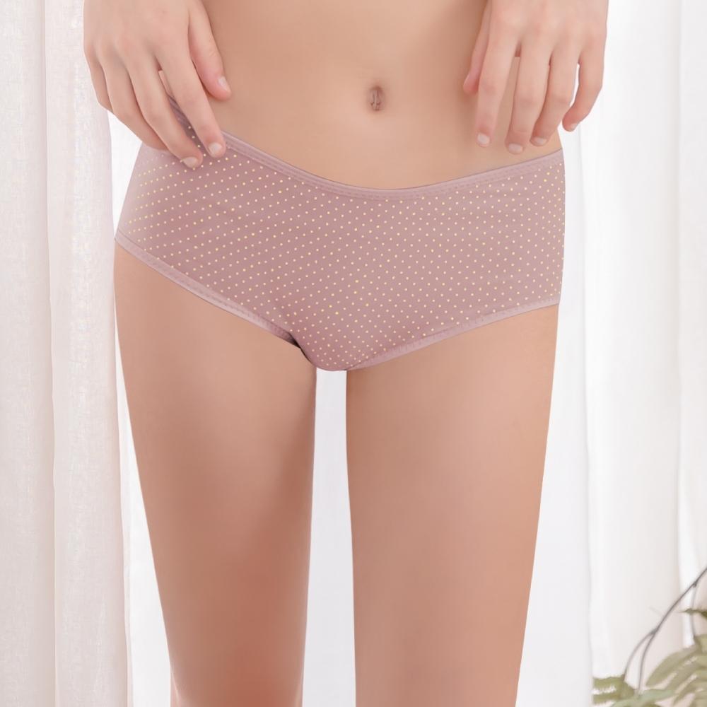 【可蘭霓Clany】馬卡龍俏皮點點M-XL內褲 薰衣草