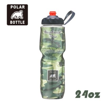 【Polar Bottle】24oz噴射保冷水壺 Camo 迷彩系列