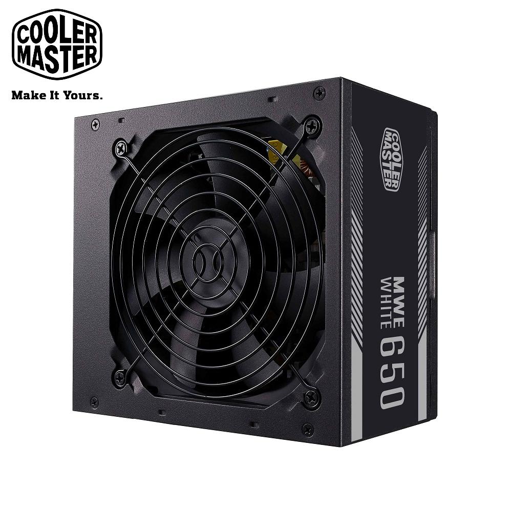 Cooler Master MWE 650 WHITE V2 80Plus白牌 650W 電源供應器