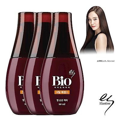 (即期品)Elastine BIO 黃金蜂膠護髮精華乳3入組
