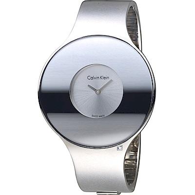 Calvin Klein Seamless 魔幻個性時尚手環錶(K8C2S116)