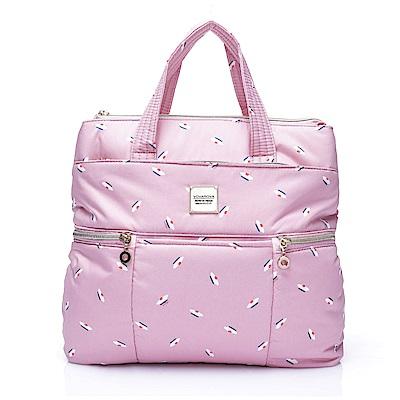 VOVAROVA空氣包-多way後背包-French Pom Pom- Pink