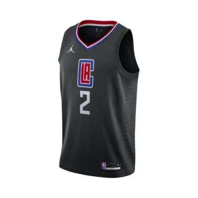 Nike 球衣 Kawhi Leonard 運動 男款 喬丹 科懷·雷納德 洛杉磯 快艇 籃球 黑 藍 CV9480011