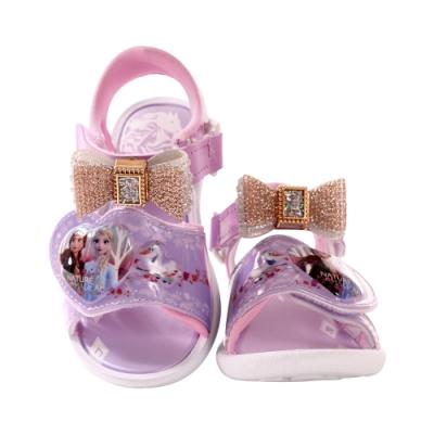 台灣製迪士尼冰雪奇緣閃燈涼鞋 a04807 魔法Baby