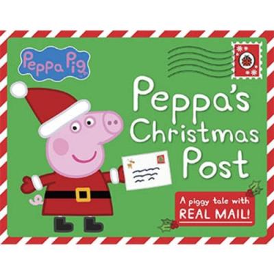 Peppa s Christmas Post 佩佩豬寄聖誕信互動操作故事書