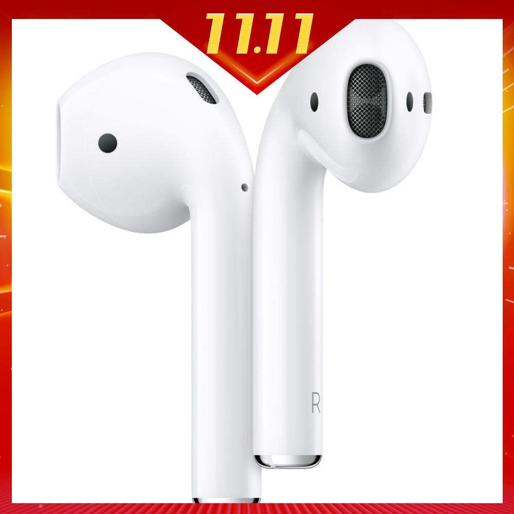 [時時樂下殺] Apple AirPods 二代 藍芽耳機 (搭配無線充電盒)