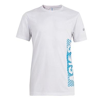ASICS 男印花短袖T恤 2031A562-108