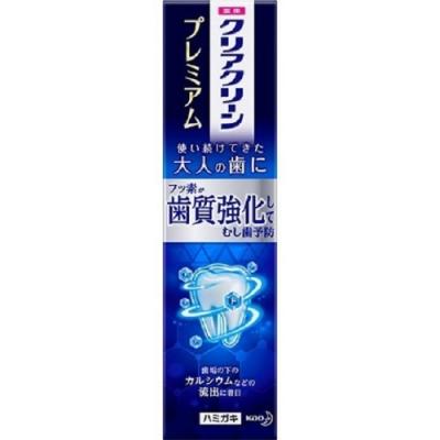日本 花王kao Clearclean 齒質牙膏100g