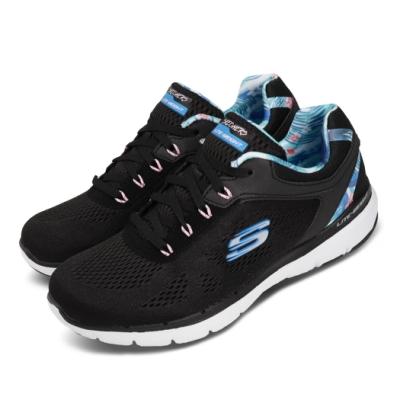 Skechers 訓練鞋 Flex Appeal 3 運動 女鞋 輕量 避震 緩衝 健身 重訓 透氣 黑 藍 149002BKBL