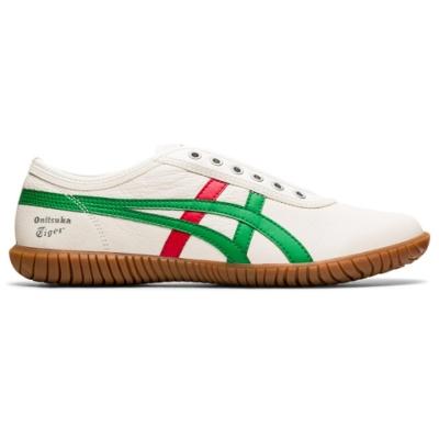 Onitsuka Tiger鬼塚虎- TSUNAHIKI SLIP-ON 休閒鞋 1183B452-102 白底綠邊