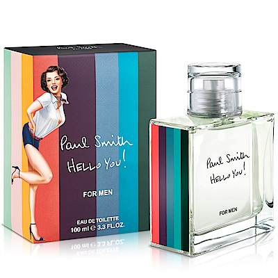 Paul Smith HELLO YOU男性淡香水(100ml)