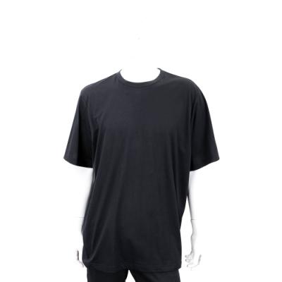 Y-3 YOHJI SKULL TEE 刺繡骷髏頭印花黑色棉質短袖T恤