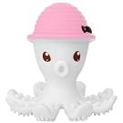 英國 Mombella 樂咬咬章魚固齒器 粉紅色