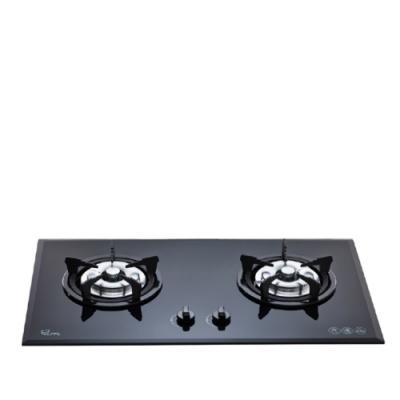 (全省安裝)喜特麗二口爐檯面爐玻璃黑色JT-GC209A/JT-GC219A同款瓦斯爐桶裝瓦斯JT-2009A_LPG