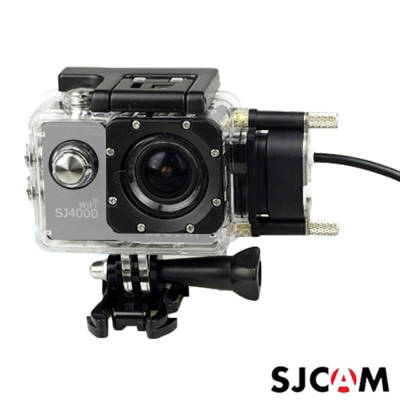 SJCAM SJ4000 原廠側開防水殼+車充