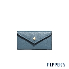 PEPPER'S Doris 牛皮信封鑰匙包 -  礦石藍