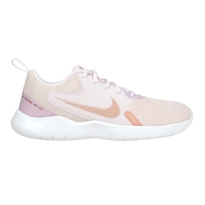 NIKE WMNS FLEX EXPERIENCE RN 10女運動休閒鞋 CI9964600 紫粉玫瑰金
