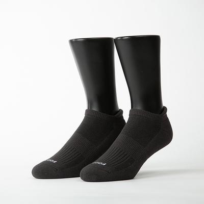 Footer除臭襪-素色美學氣墊防磨船短襪(男襪-K32)