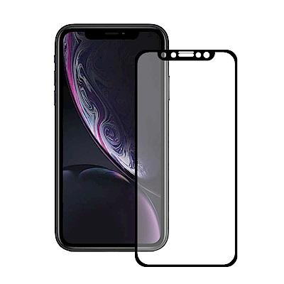 TEKQ iPhone 11 / XR 康寧3D滿版9H鋼化玻璃6.1吋螢幕保護貼-黑