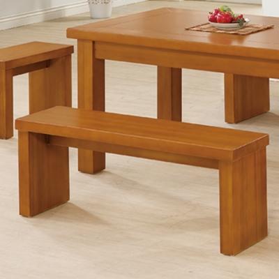 H&D 皇冠樟木色長椅凳