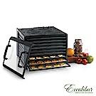 【贈食物處理機】Excalibur伊卡莉柏低溫乾果機九層塑膠/透明門(黑)3926TCDB