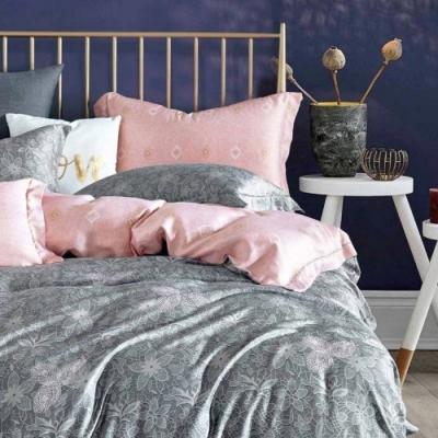 LAMINA 赫朵拉 100%天絲枕套床包組 雙人