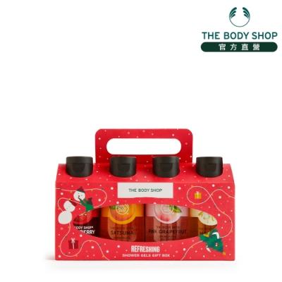 The Body Shop 繽紛果香迷你沐浴原裝禮盒