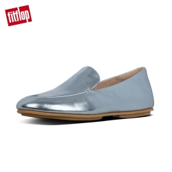 FitFlop LENA METALLIC LOAFERS 時尚樂福鞋 冰河藍
