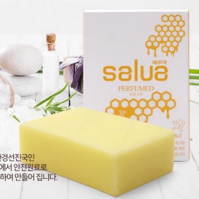 韓國 salua 純天然手工香蕉蜂蜜皂 敏感肌適用