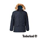 Timberland 男款寶石藍派克連帽大衣|A1ZRM
