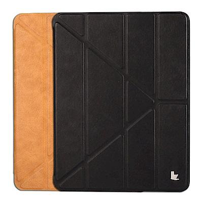 JISONCASE Apple iPad Pro 12.9 Y折筆槽側翻皮套